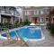 Жильё и отдых в Крыму в номерах  гостиницы с бассейном в Судаке на лето 2015